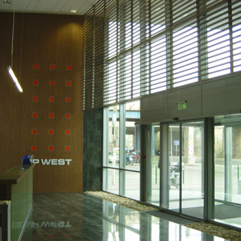IP WEST Irodaház I. ütem recepció