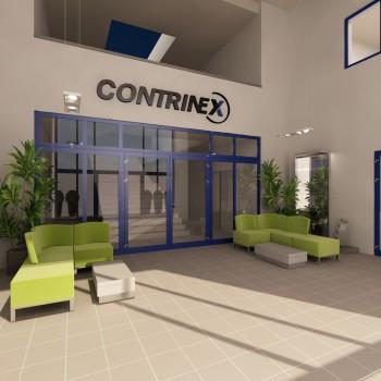 CORTINEX Kft. Lobby terv