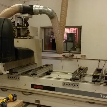 Lapszabászat, CNC megmunkálóközpont