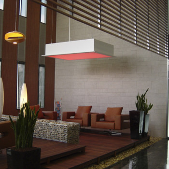 IP WEST Irodaház lobby