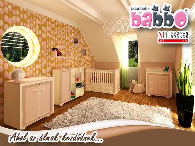 Babbo bababútor Luna bézs babaszoba - Unit-B Kft. bútorkészítés 9c4ca14ebb