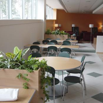 Alkotás Point irodaház étterem